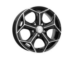 Диски K&K КС410 (Кристалл-оригинал) 6x15 5*114.3 ET50 Dia67.1 Алмаз-черный